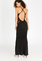 Sissy Boy - Cut-out Detail Maxi Dress Black