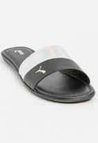 PUMA - Puma Xcelcat Slides Silver