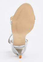 edit - Ankle-strap Heels Silver