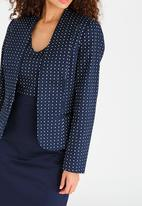 edit - Tailored Printed Blazer Multi-colour