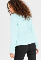 edit - Semi-fitted Blazer Green