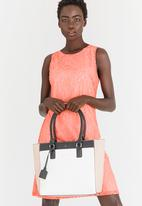 BLACKCHERRY - Colourblock Tote Bag Multi-colour