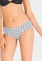 PIHA - Hipster Bikini Bottoms White