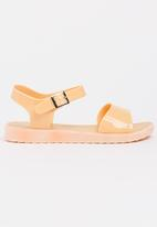 Candy's - Jelly Ankle Strap Sandals Nude