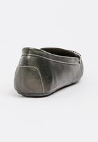 Bata - Stitch Detail Loafers Black