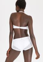 Sissy Boy - Crochet Balconette Bikini Top White