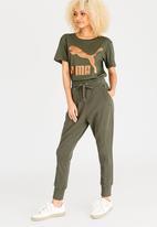 PUMA - Fusion Sweat Pants Green