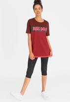 Nike - Nike Sportswear Top Dark Red