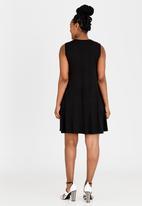 edit Maternity - Swing Dress Black