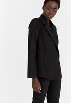 STYLE REPUBLIC - Oversized Blazer Black
