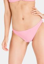 Lizzy - Alvina Basic Bikini Bottom Mid Pink