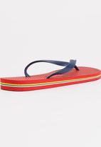 Havaianas - Brazil Logo Flip Flops Red