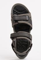 UrbanArt - Flame 2 Nub Sandals Black