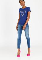 GUESS - Guess Power Skinny Jeans Mid Blue