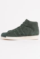bb6535739 Adidas Pro Model Double Sneakers Khaki Green adidas Originals ...