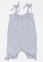 Pickalilly - Printed Playsuit Grey
