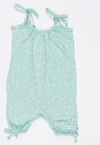 Pickalilly - Printed Playsuit Pale Blue