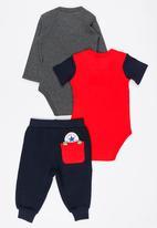 Converse - 3-Piece Retro Knit Multi-colour
