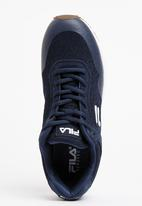 FILA - Turn Mesh Sneakers Navy
