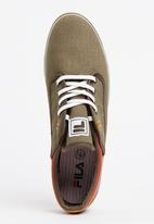FILA - Benito Canvas Sneakers Khaki Green