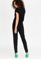 STYLE REPUBLIC - Drape Jumpsuit Black