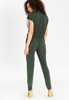 08e8c810d77 Drape Jumpsuit Dark Green STYLE REPUBLIC Jumpsuits   Playsuits ...