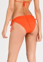 Lithe - Side Loop Tie Bottoms Orange