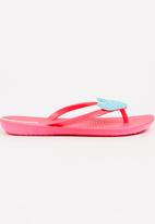 Ipanema - Heart  Flops Mid Pink