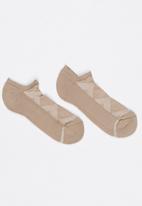 Falke - Silver Cushion Socks Beige
