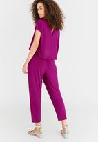 edit - Lounge Jumpsuit Mid Pink