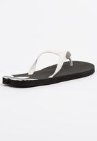 new concept fc867 7ec79 adidas Originals - Originals Adi Sun Flip Flops Black and White