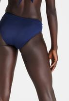 Jacqueline - Drape Band Bottom Blue