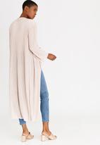 edit - Longer Length Waterfall Cardigan Cream