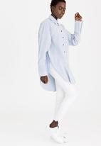 STYLE REPUBLIC - Oversized Shirt Pale Blue