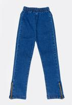 POP CANDY - Girls Skinny Jeans Mid Blue