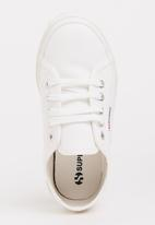 SUPERGA - Lace Up Sneaker White