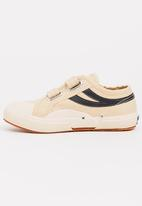 SUPERGA - Velcro strap sneaker - cream