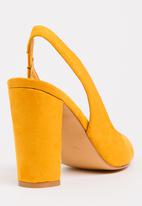 Sissy Boy - Slingback Courts Yellow
