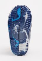 POP CANDY - Dinosaur printed boot - blue