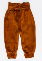 POP CANDY - Joggers with broad waistband - brown