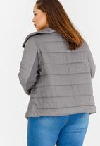 edit Plus - Puffer Jacket Grey