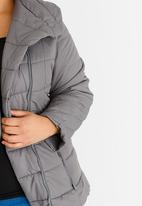 edit Plus - Puffer Jacket Grey