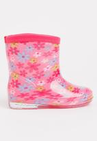 POP CANDY - Girls  Printed   Boot Mid Pink