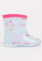 POP CANDY - Girls  Printed Boot Pale Blue