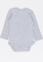Funky Shop - Twinkle star baby grow - grey