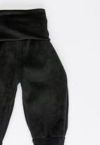 POP CANDY - Joggers with broad waistband - black