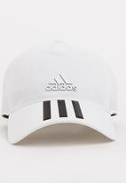 04eff76c7e9ca C40 6 Panel 3-Stripes Climalite Cap White adidas Performance ...