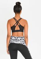 adidas - Yogo halter neck - grey & black