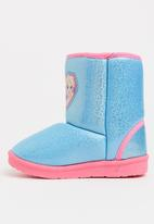 Character Fashion - Kids frozen winter boots - blue & pink