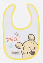 Character Baby - Winnie The Pooh Jersey Bib Multi-colour